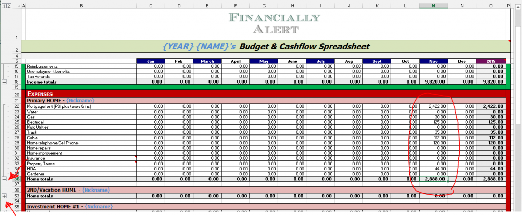 Budget-Cashflow 4